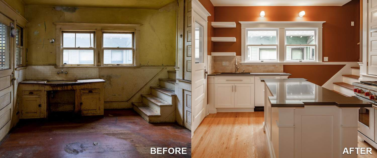 JAM Concept Remodeling- BEFORE AND AFTER REMODELING AND RESTORATION
