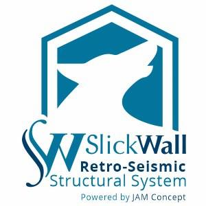SlickWall Retrofit Seismic earthquake structural contractor logo